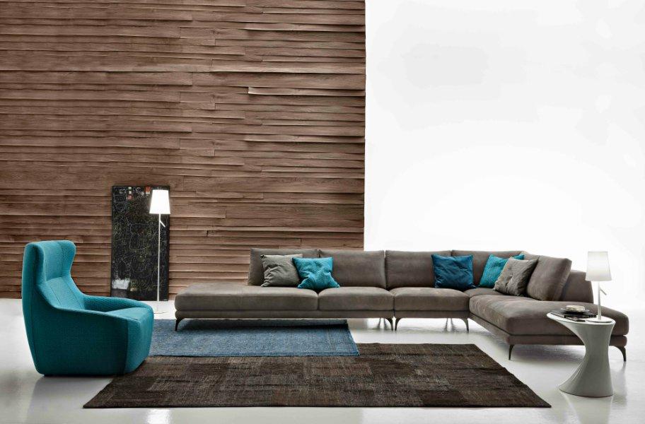 divano design pelle