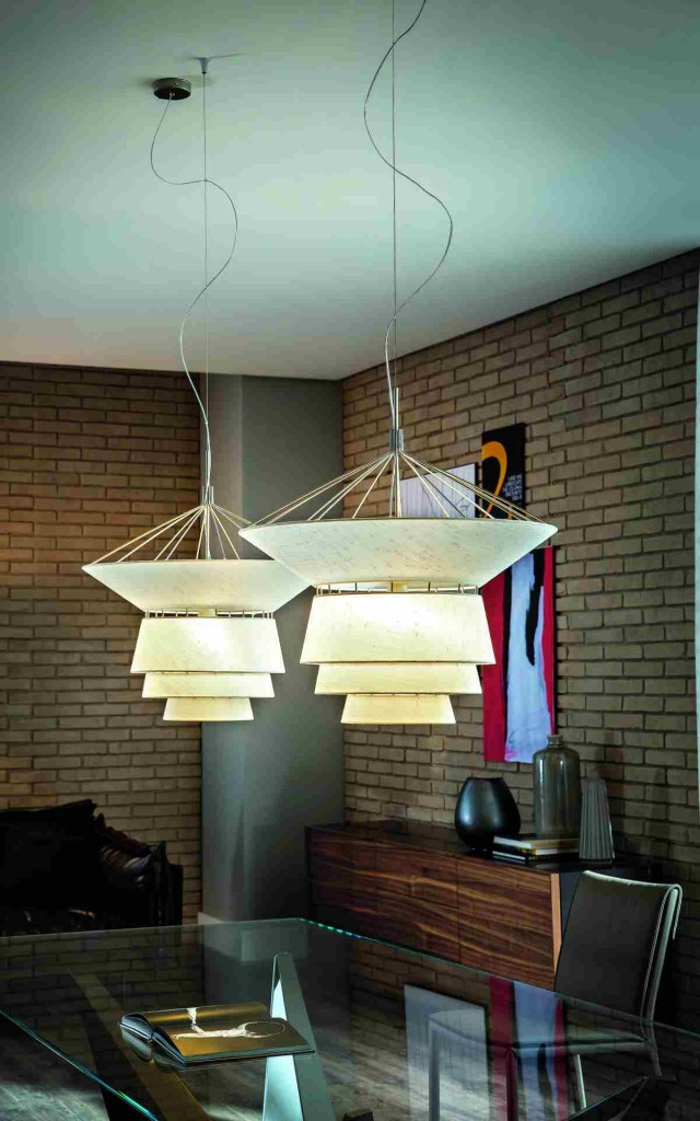 lampadario moderno